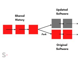 Blockchain forking
