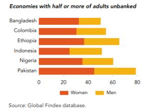 Unbanked economies